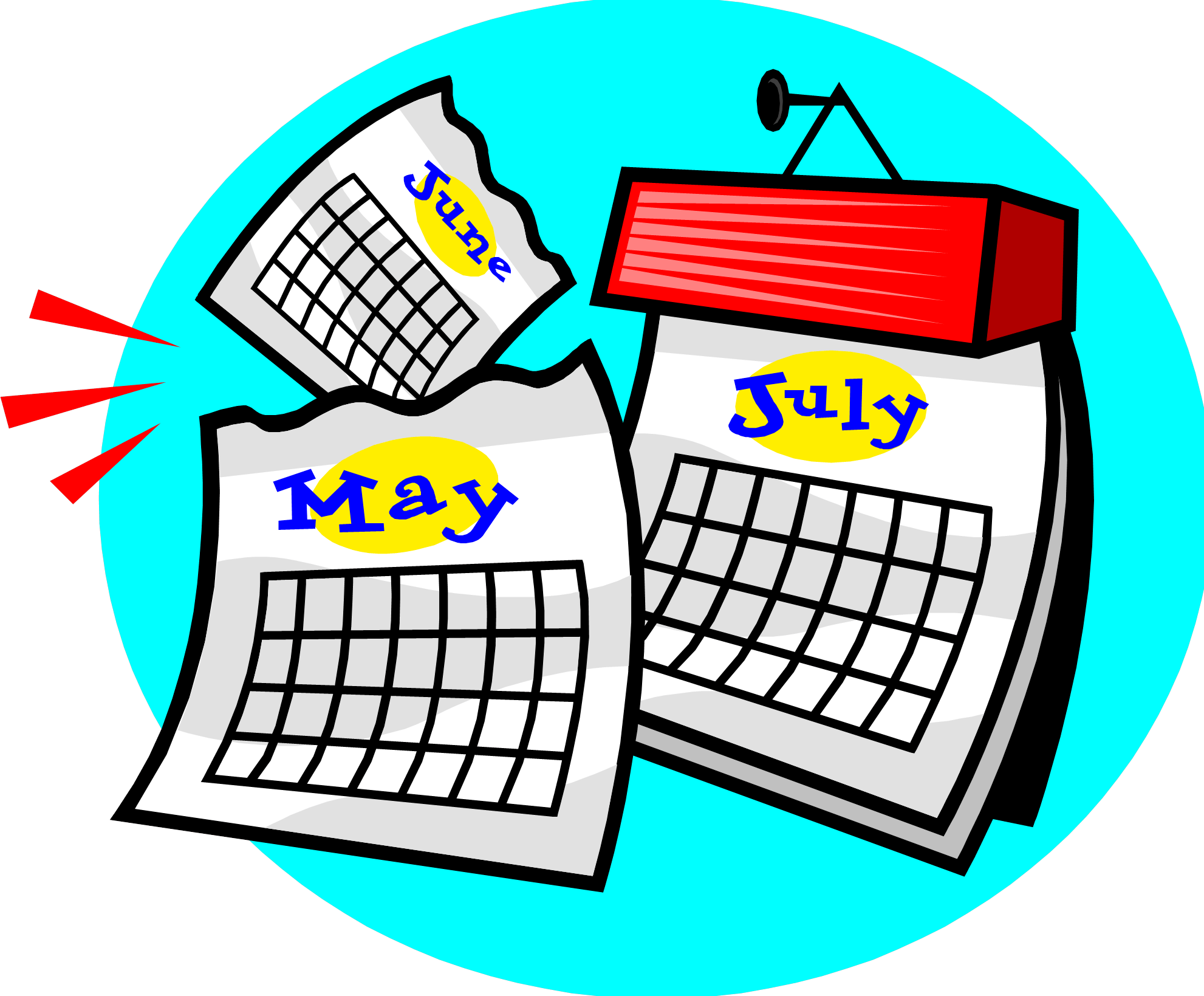 Year Calendar Clipart : Top reasons why you should write short stories