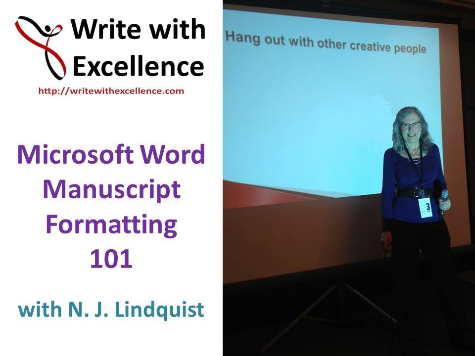 Before you send that story or book… MS Word manuscript formatting 101